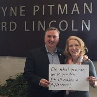 Wayne and Maria Bricknell of Wayne Pitman Ford Lincoln Inc.