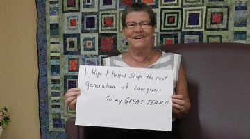 Susan Radin, Retired Nurse