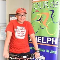 Ethan, Top Youth Fundraiser Tour de Guelph 2017