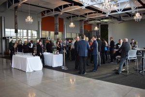 Circle of Life members gathering in the Frank Hasenfratz Centre for Excellence