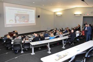 The presentation begins in the Auditorium
