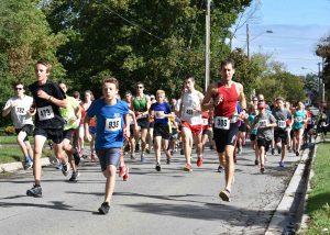 5km run start