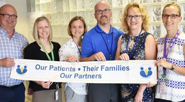 Members of the Patient Experience Initiative working group at GGH