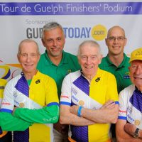 Tour de Guelph Five Top Three Fundraisers