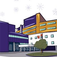 GGH Hospital Winter