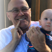 Dan Pestill with Grandson